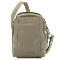 Pacsafe Metrosafe LS100 Earth Khaki Crossbody Bag