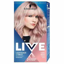 Schwarzkopf LIVE Pastel 2in1 Lightener Twist Permanent 101 Cool Rose Hair Color