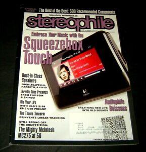 Stereophile Revue Octobre 2010 Squeezebox Touch / Harbeth & Vif Haut-Parleurs