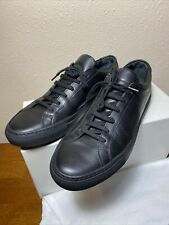 COMMON PROJECTS Original Achilles Low Black Leather EUR 41 US 8 *NEW* MSRP $410