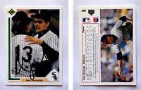 Alex Fernandez Signed 1991 Upper Deck #645 Card Chicago White Sox Auto Autograph