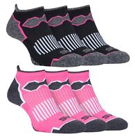 Storm Bloc - 3 Pack Womens / Ladies Short Sports Quarter Low Cut Running Socks
