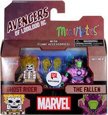Marvel Minimates ~ GHOST RIDER & THE FALLEN (1,000,000 BC) ACTION FIGURE SET