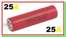 BATTERIA PILA LITIO LG INR 18650 HE2 2500 mAh 25A box mod vape big battery