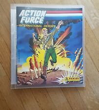 Album Panini Stickers 1987 Action Force - GI Joe Neuf + 240 Images A Coller