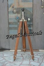 Deginer Floor Lamp With Brown Wood Tripod Stand Vintage Floor Lamp  Home Decor