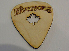 RIVERSONG WOODEN GUITAR PICKS .60 MM  MAPLE WOOD MADE IN CANADA 4 PICK PACK
