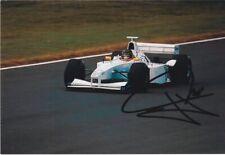 Jörg Müller signed F1 photo - Williams Fw21 Bmw F1 test 1999