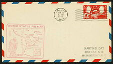 1947 FIRST FLIGHT US AIR MAIL ROUTE AM73 GALLUP, NM TO GRAND JUNCTION (ESP#1777)