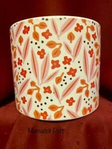 Floral Pink Ceramic Large Planter Pot