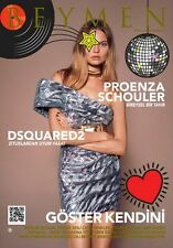 Magdalena Frackowiak Cover on BEYMEN Turkish Catalog Autumn Winter 2016 2017 NEW