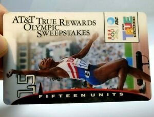 15u Olympic Gymnast: Giveaway For Switching To AT&T - Atlanta 1996 Phone Card