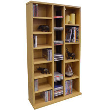 Watsons St Laurence 355 CD/130 DVD Blu-ray Media Storage Shelves - Beech