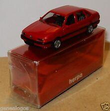 MICRO HERPA HO 1/87 VW VOLKSWAGEN PASSAT GL ROUGE FONCE METAL IN BOX