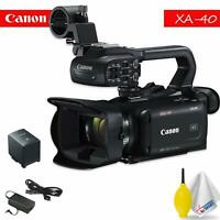Canon XA40 Professional Camera - Black Bundle 1