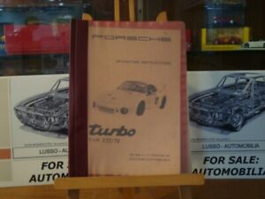 Super rare Porsche 935/79 Turbo manual (EN) and Spare parts catalog 935 /77 (GE)