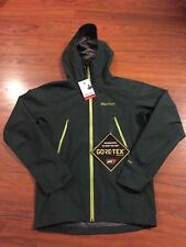 Marmot Knife Edge Gore-Tex Paclite Jacket Dark Spruce Green Sz S $225