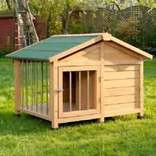 Dog Kennel Sturdy Medium Attractive Outdoor Lockable Roofed Patio Spacious