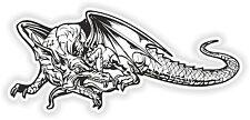 Etiqueta engomada de dragón para auto motocicleta portátil Tablet Guitarra Locker Caja de herramientas #12