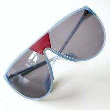 vintage RODENSTOCK Supersonic 3063 sunglasses aqua red West Germany M-L unisex