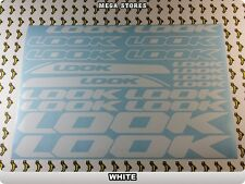 LOOK Stickers Decals  Bicycles Bikes Cycles Frames Fork Mountain MTB BMX 55JB