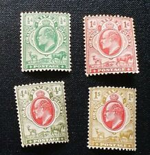 ORANGE RIVER COLONY 1905 0.5d to 1s SG 148 - 151 Sc 70 - 73 set 4 MH