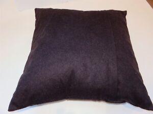 Calvin Klein Raisin Purple Heathered Wool deco pillow $160 NWT Rare