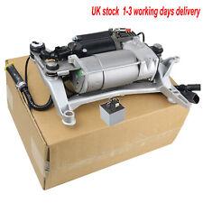Air Suspension Compressor Pump +Carrier + Relay VW Touareg Porsche Cayenne 955