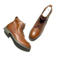 EASTLAND Men's Leather Lace Up Boots Nutmeg 7246-40D Men's size 11