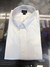 New Jos A Bank Dress Shirt Men's Size 18 34 White Cotton Q-986