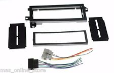 CAR STEREO RADIO DASH KIT CHR-K7401 & WIRE HARNESS FOR CHRYSLER PLYMOUTH JEEP