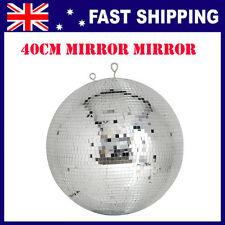 Mirror Ball 40 cm, disco accessory party, parties, shine light on it for effect