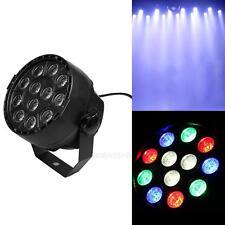 12LED RGBW Par Stage Light DMX Remote Control Disco Xmas Bar DJ Stage Light
