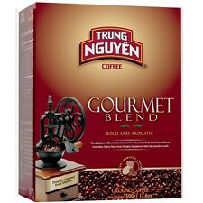 4 BOXES - TRUNG NGUYEN Gourmet Coffee 17.6 oz ground each box