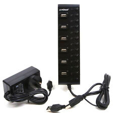 NEW mbeat 13 Port Powered USB 2.0 Hub(MTT) with Switches and Power Adaptor