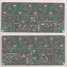 Pure Class A OCL SEPP amplifier bare PCB JLH 2003