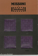 Wolford Made in Austria Missoni Runway Pantyhose Tights New Viola Medium