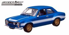 Greenlight 2013 Fast & Furious Brian's 1974 Ford Escort RS 2000 MK1 1/43 Blue