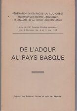 De L'ADOUR au PAYS BASQUE - 1968