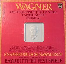 "WAGNER KNAPPERTSBUSCH/SAWALLISCH BAYREUTER FESTSPIELE PHILIPS CAJA 12"" LP [k362]"