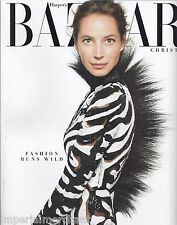 Harper's Bazaar magazine Christy Turlington Fashion preview Hair Kristin Wiig