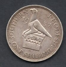 Southern Rhodesia one shilling 1937 coin