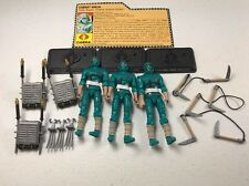 GI Joe Cobra 25th Anniversary Figure Lot Blue Ninja  Viper x3 Army Builder