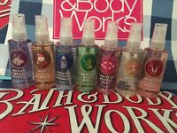 New Bath & Body Works Fragrance Body Mist 3 oz / 88 ml Travel Size Choose scent