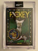 Topps Project 2020 Rickey Henderson Artist Efdot #248 PR 3,299 Oakland Athletics