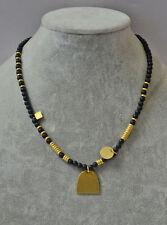 madewell beachline beaded necklace black