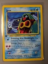 NM-M Jynx 1st Edition Neo Revelation Uncommon 31/64 Pokemon