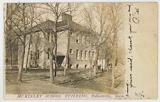 1907 Estherville Iowa McKinley School real photo postcard Rppc