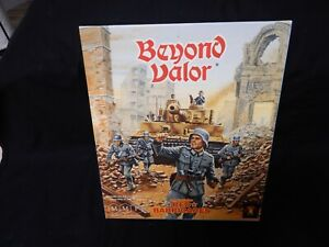 """AVALON HILL ASL,BEYOND VALOR """" RED BARRICAEDS """" 2ND EDITION WITH BOX > UNPUNCHED"""