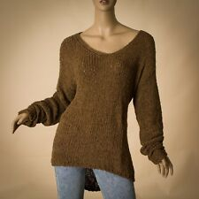 Marc O'Polo women lady knit sweater size XL extra large brown Genuine
